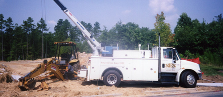 service line equipment ses heavy equipment truck repair southeast equipment service